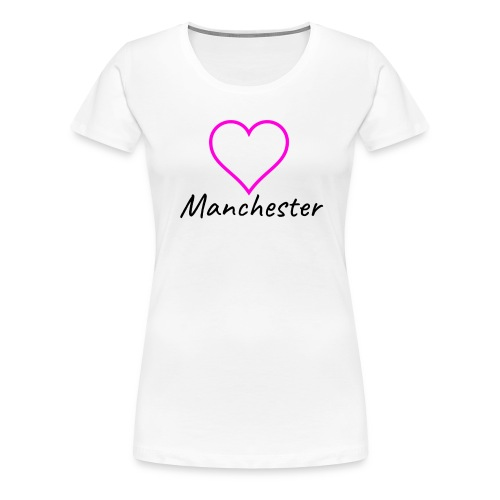 Love Mcr Pink - Women's Premium T-Shirt