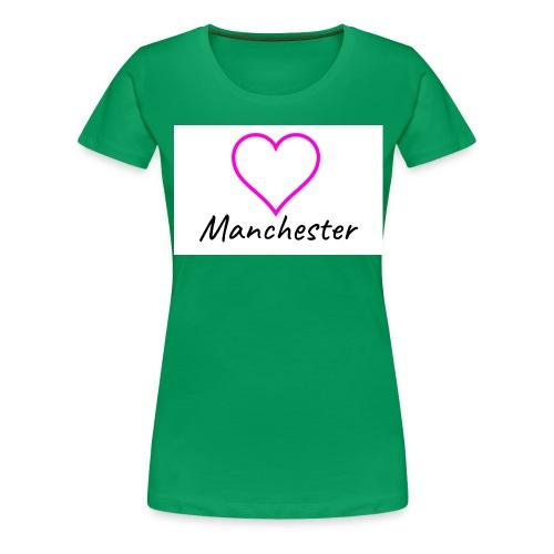 Love Mcr Pink - Women's Premium T-Shirt