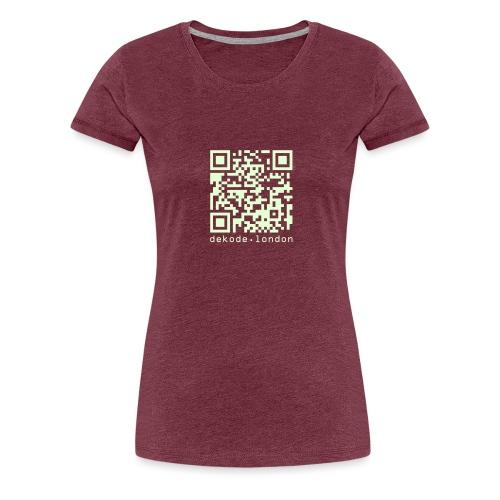 I Am A Number - Women's Premium T-Shirt