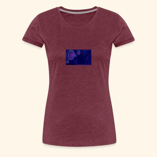 Dartblack BL b1 - Frauen Premium T-Shirt