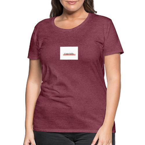Utah hillss - Dame premium T-shirt