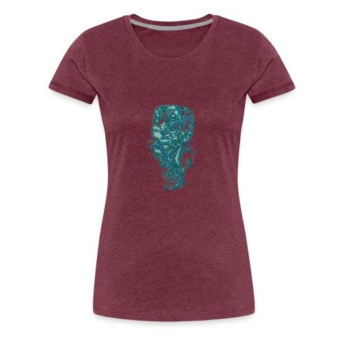 Perro azul - Camiseta premium mujer