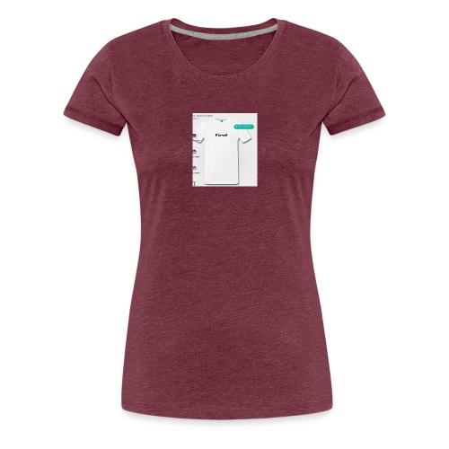 Zuerst Gesegnet - Frauen Premium T-Shirt