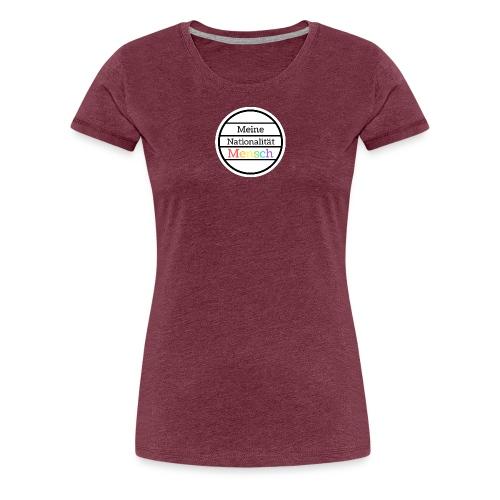 Nationalität Mensch - Frauen Premium T-Shirt