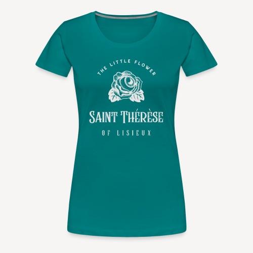 St Thérèse of Lisieux - Women's Premium T-Shirt