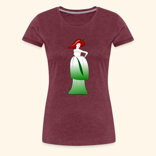 Kimchifrau - Frauen Premium T-Shirt