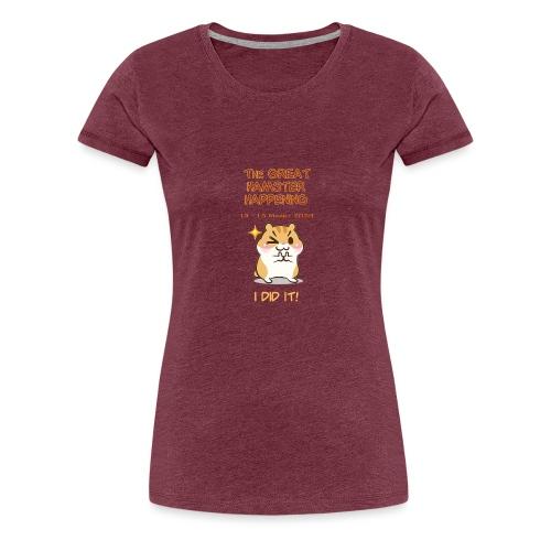 Het grote Corona Hamsterweekend! - Vrouwen Premium T-shirt