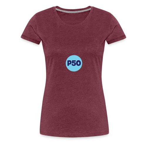 Logo p50 - Camiseta premium mujer