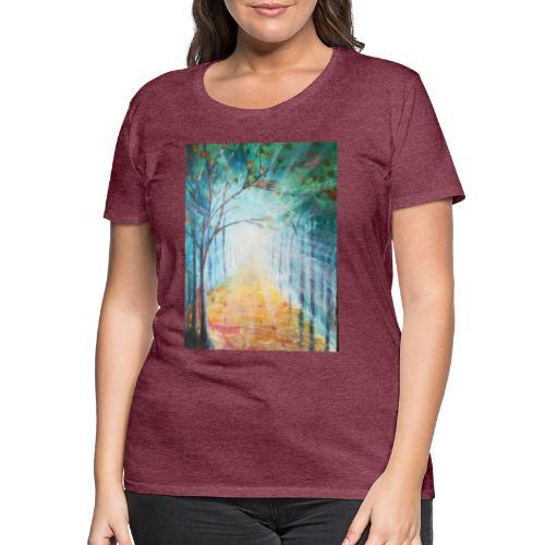 Im Zeichen des Lichts - Künstler Jan Korski - Frauen Premium T-Shirt