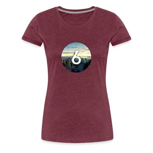 6 city - T-shirt Premium Femme