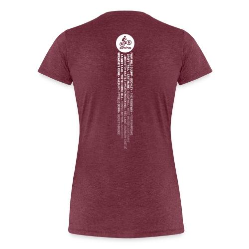 MBS Places Stripe2 - Women's Premium T-Shirt