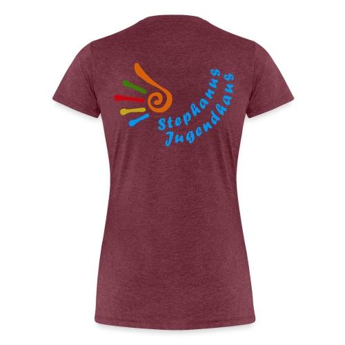 Stephanus Jugendhaus - Frauen Premium T-Shirt
