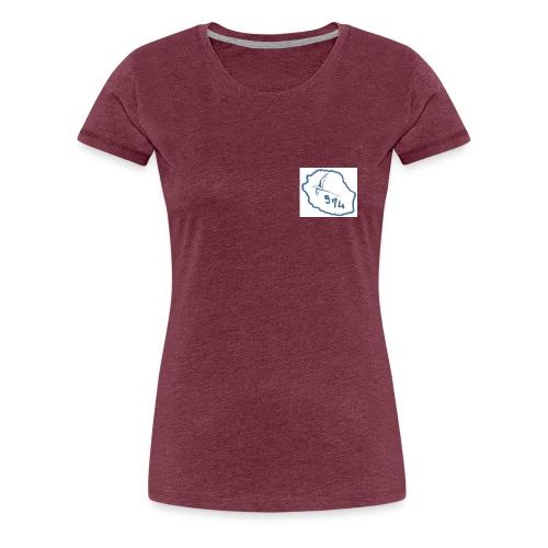 carte oiseaux - T-shirt Premium Femme