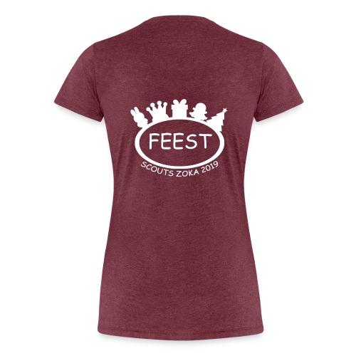 Scouts ZoKa 2019 - Vrouwen Premium T-shirt