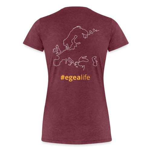 #egealife - Women's Premium T-Shirt