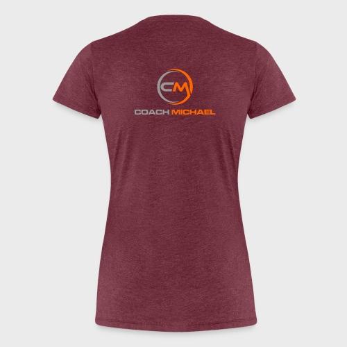 Coach Michael Personal Training & Coaching - Frauen Premium T-Shirt