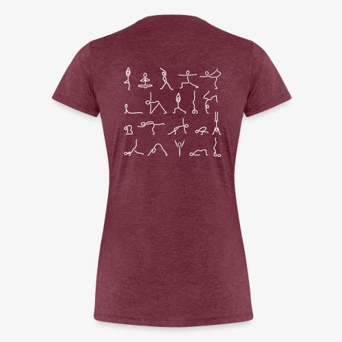 iYpsilon Yoga-all - Frauen Premium T-Shirt