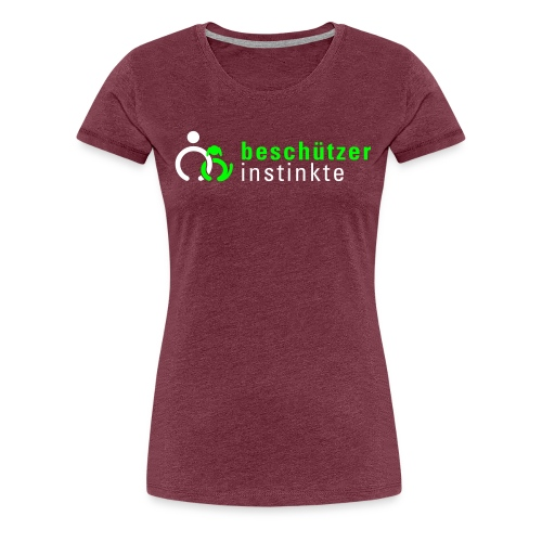 logo 2c ohne ev - Frauen Premium T-Shirt