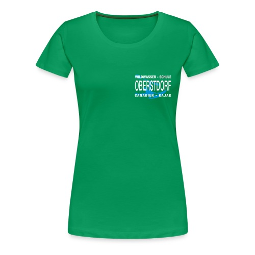 WWSO Logo Weis - Frauen Premium T-Shirt