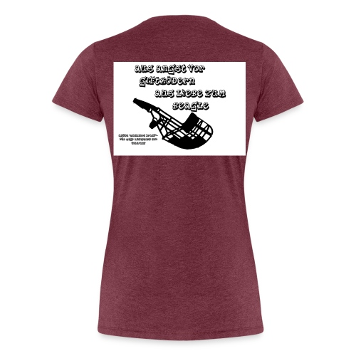 beagle - Frauen Premium T-Shirt