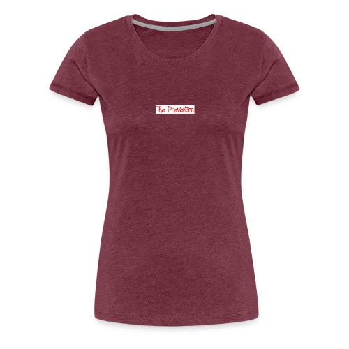 pre red jpg - Women's Premium T-Shirt