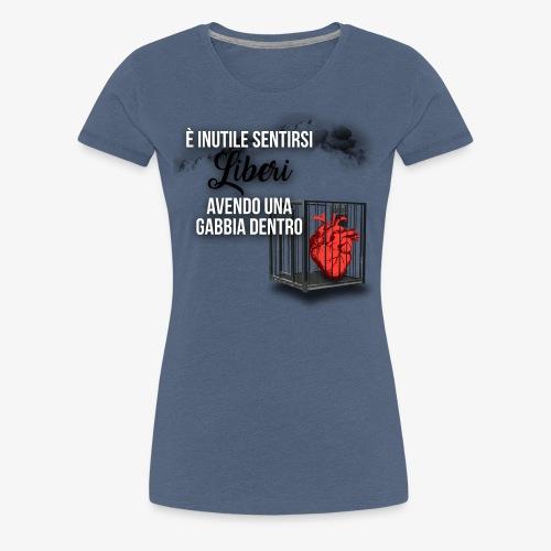 Rap Art ITA BRAND - Maglietta Premium da donna
