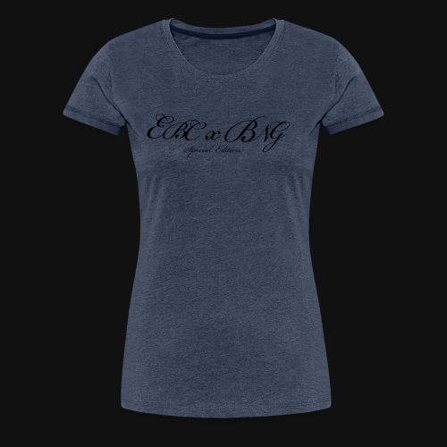 EBC x BNG 1st collab - Women's Premium T-Shirt