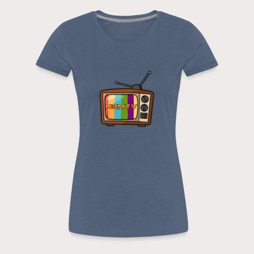 Logo N3MTV - T-shirt Premium Femme