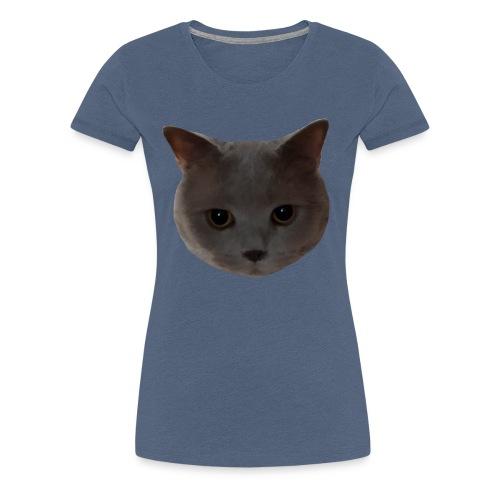 süße Katze - Frauen Premium T-Shirt