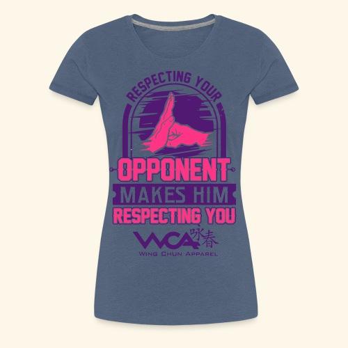 Respecting your opponent - Women's Premium T-Shirt