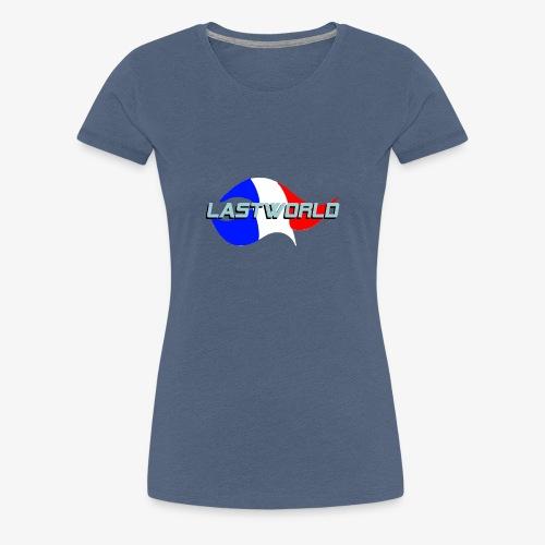 Collection LastWorld Drapeau Français - T-shirt Premium Femme