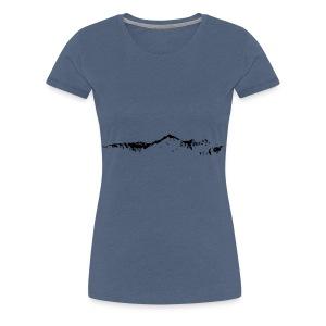 Falknis Bergkette - Frauen Premium T-Shirt