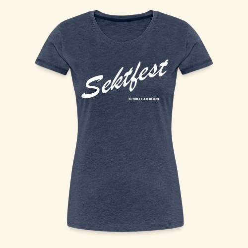 Sektfest Eltville 2018 - Frauen Premium T-Shirt
