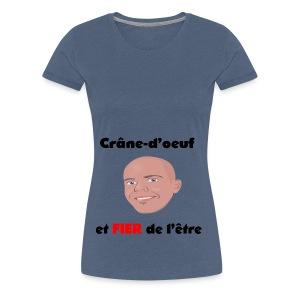 Chauve et fier - T-shirt Premium Femme