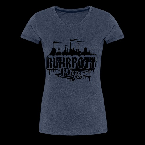 Ruhrpott King - Frauen Premium T-Shirt