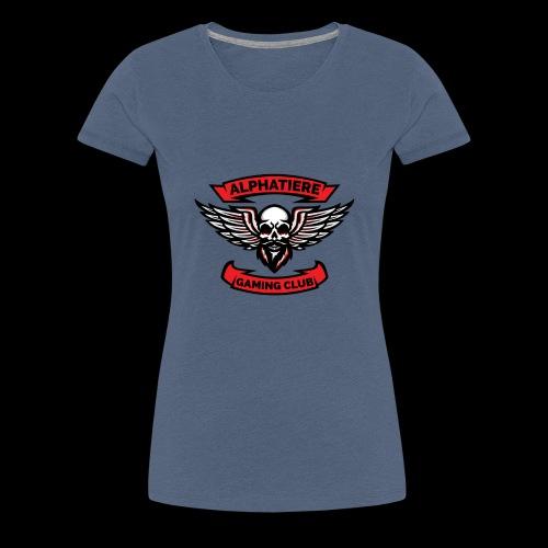 Alphatiere Gaming Club Classic - Frauen Premium T-Shirt