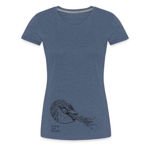 Studio Van Keulen - Odd fish - Vrouwen Premium T-shirt