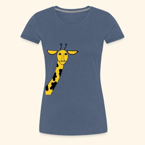 Giraffe - Women's Premium T-Shirt