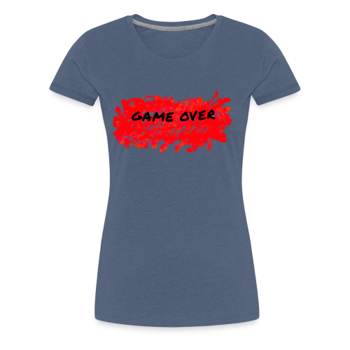 GAME OVER - Dame premium T-shirt
