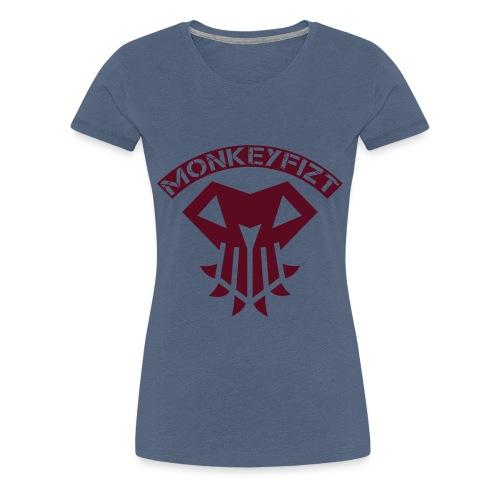 MonkeyFizt Logo - Frauen Premium T-Shirt
