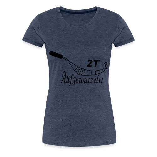 Auspuff 8 - Frauen Premium T-Shirt