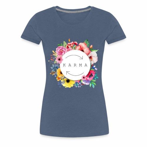 FLowerkarma - Maglietta Premium da donna