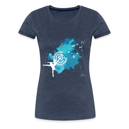 DANCER DANDELION - Maglietta Premium da donna