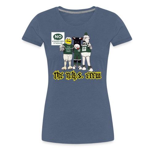 NKS Gangsta - Women's Premium T-Shirt