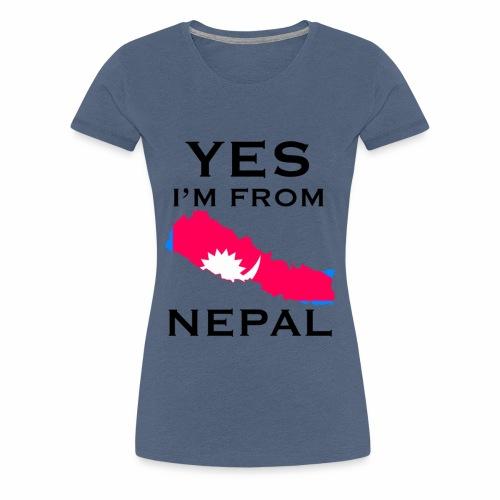 NEPAL - Women's Premium T-Shirt