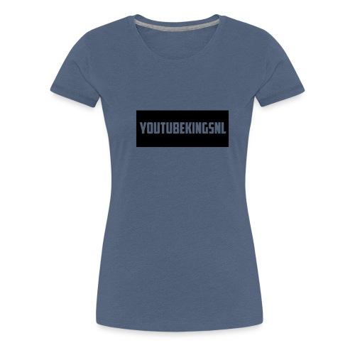 YoutubeKingsNL Bar Logo - Vrouwen Premium T-shirt