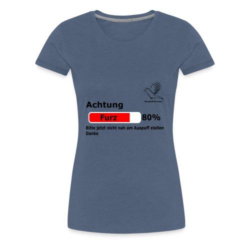 Dompfaff Furz Lädt - Frauen Premium T-Shirt