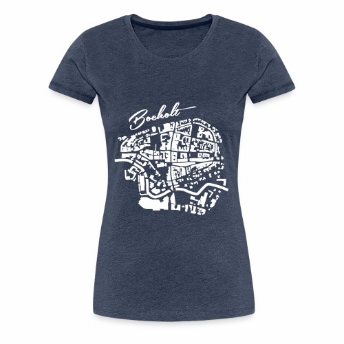 Bocholt - Die Innenstadt - Frauen Premium T-Shirt