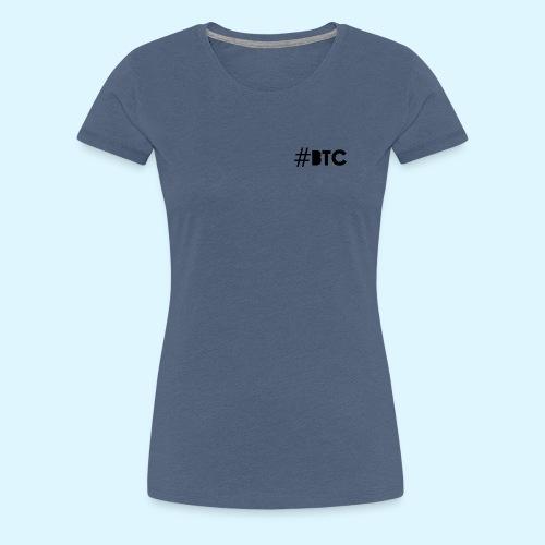 Hashtag BTC - Women's Premium T-Shirt