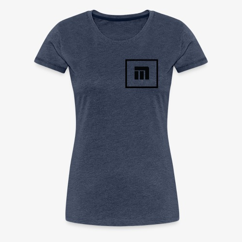 Malecka logo petit - T-shirt Premium Femme
